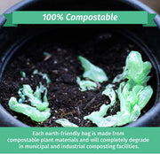 Compostable 13 Gallon - 150 Count - Eco-Friendly