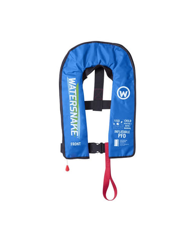 Watersnake Kids Inflatable Life Jacket Auto/Manual