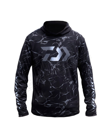 Daiwa Splash Fishing Shirt With Hood
