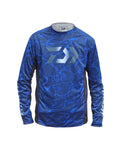 Daiwa Splash Fishing Shirt Blue