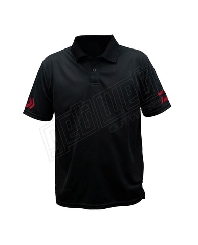 Daiwa DVEC Polo Shirt Black