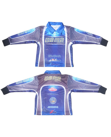 Get Wet Long Sleeve Mens Fishing Shirts (CLEARENCE)