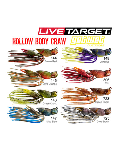 Hollow Bodied Craw