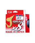 Daiwa J-Braid 300Yds Multi Coloured