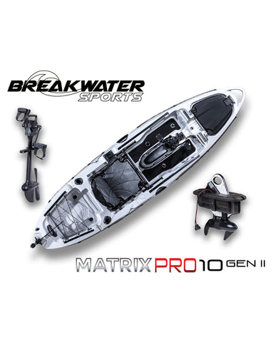 Matrix Pro 10 Gen 2 Paddle Kayak (Electric Motor Ready)