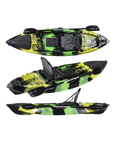 Rampage Fishing Kayak Package 3m