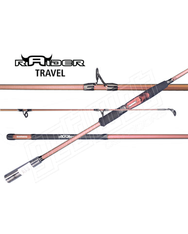 Shimano Raider Travel Spin Rods