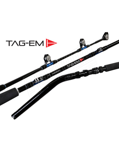 Shimano Tag-Em Fully Rollered Bent Butt Rods