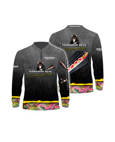 Tassie Devil Long Sleeve Fishing Shirt