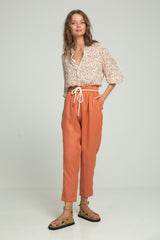 Valentine Pant - Coral