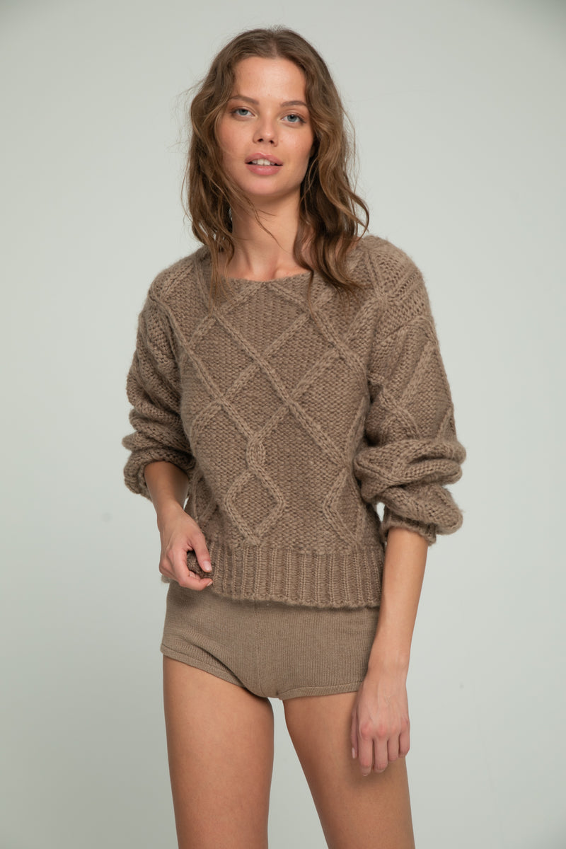 Amour Knit - Mocca