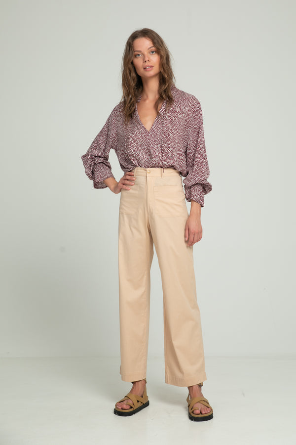 Molly High Waist Pant - Pinksand
