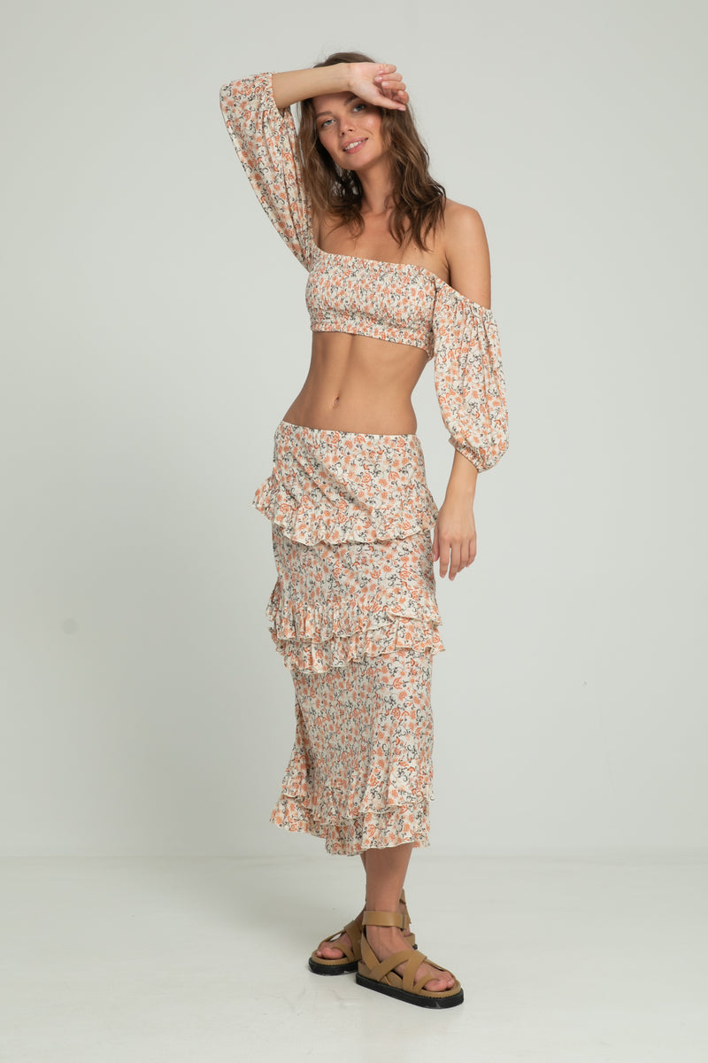Lala Skirt - Indian Corals