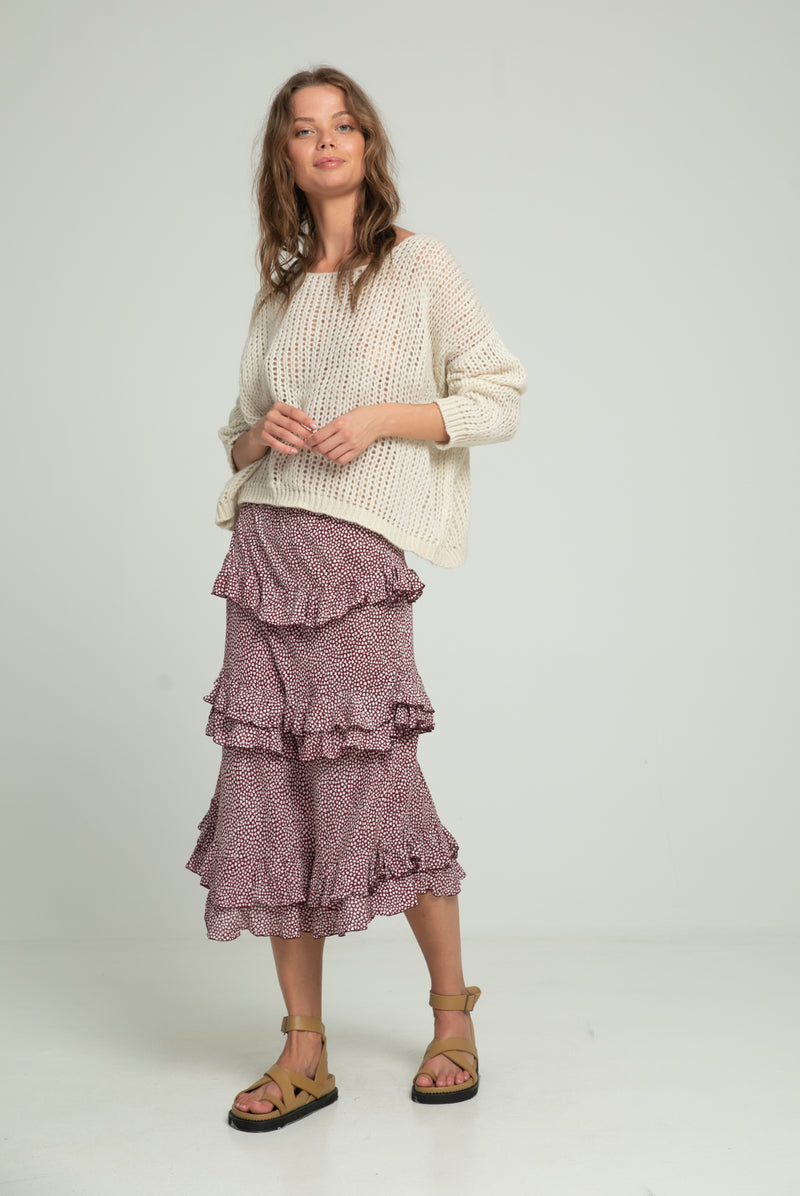 Lucca Knit - Ivory