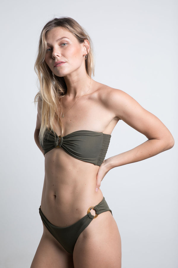 Sorrento Ring Bikini - Khaki
