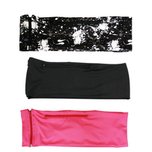 Load image into Gallery viewer, 3 PACK BUNDLE- PAINT SPLATTER, JET BLACK, HOT PINK