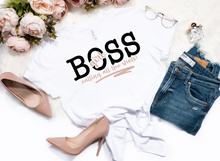 Load image into Gallery viewer, HUSTLE/BOSS SHIRTS OVER 5 STYLES AVAILABLE