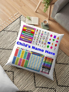 School Age Learning Pillow