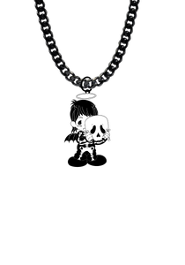 Fallen Angel Baby Necklace Limited