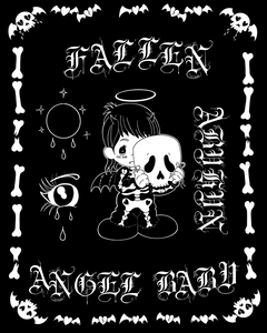 Fallen Angel Baby Sticker Sheet Limited