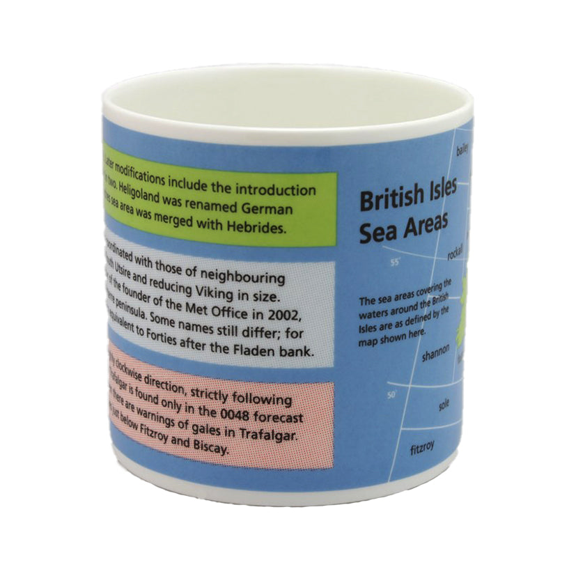 Sea Areas of the British Isles Mug
