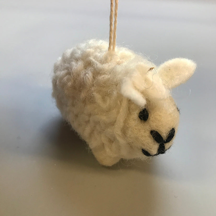 christmas sheep decoration