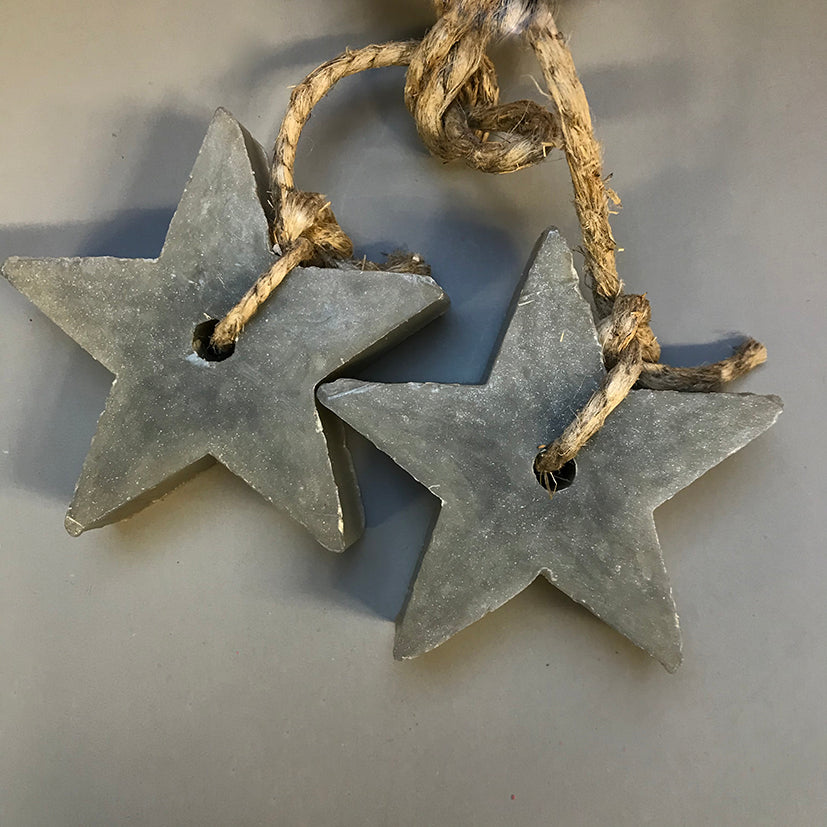 Star soap on a rope