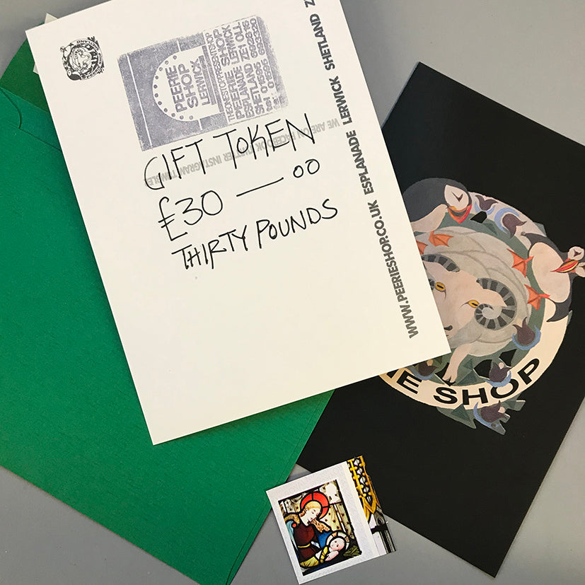 Gift token and stamp