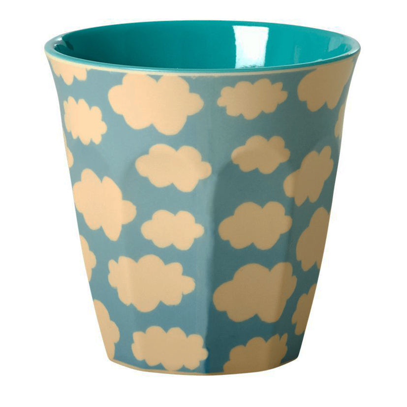 Patterned melamine cup