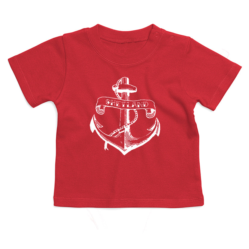 Anchor Print baby T-Shirt