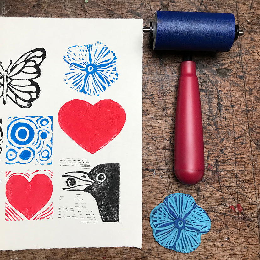 Relief Printing & Stamping Workshop - Saturday 19th October