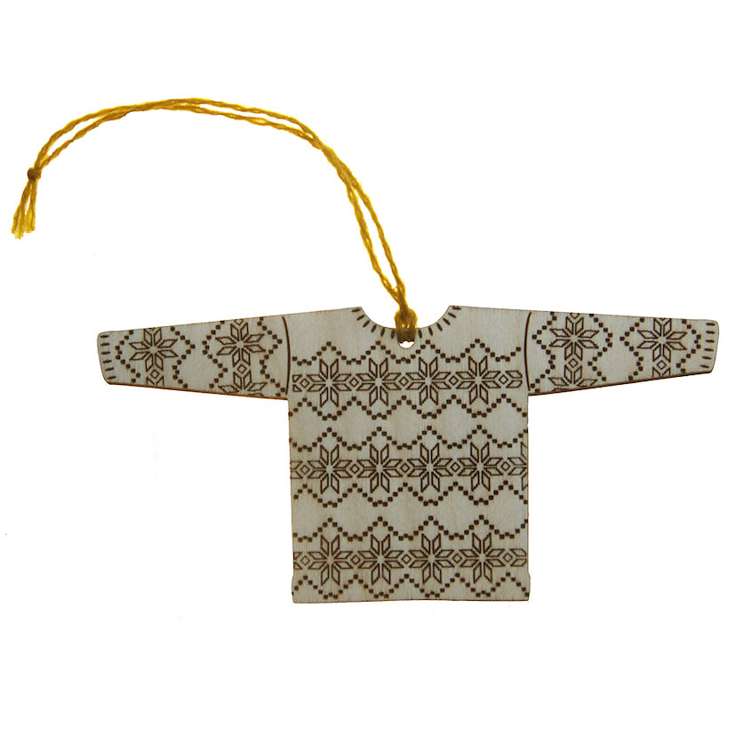 Shetland Fairisle Jumper Decoration