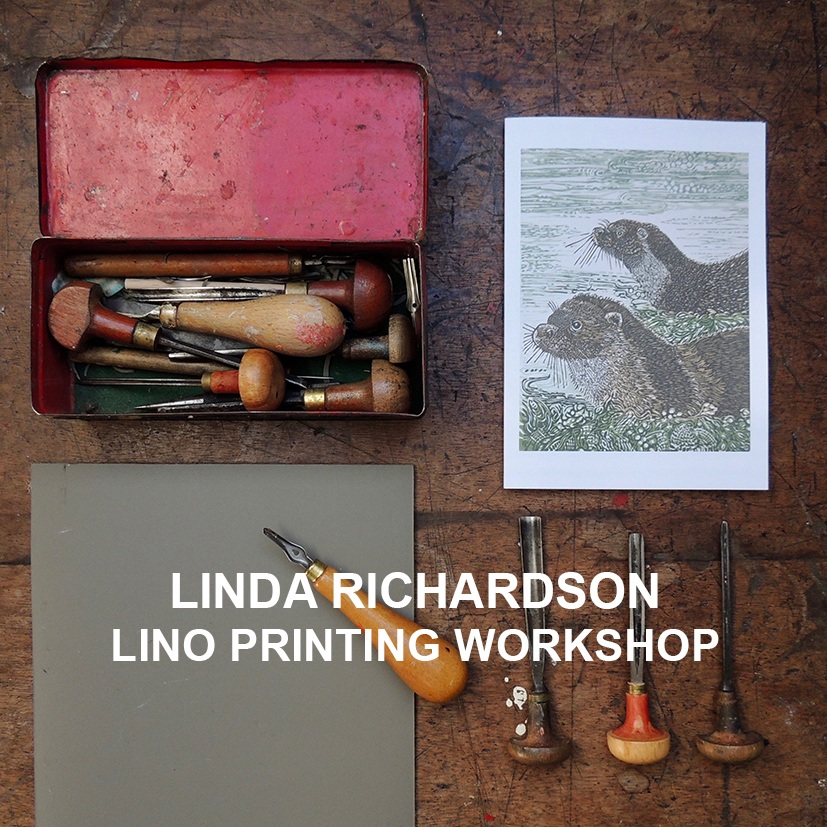 Lino Printing Workshop Saturday 14th September