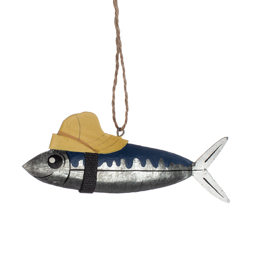 Mackerel with a hat