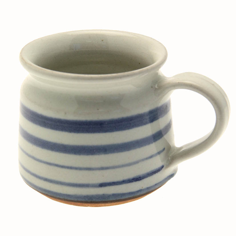 Blue Striped Fair Trade Mug