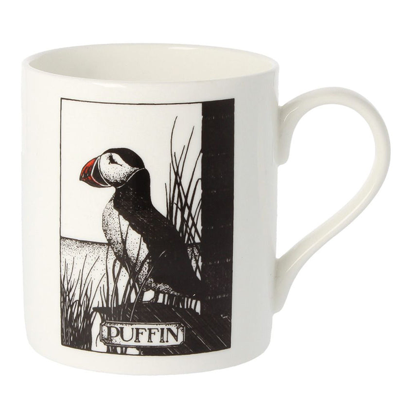 'Puffin Nuffin' Mug by Simon Drew