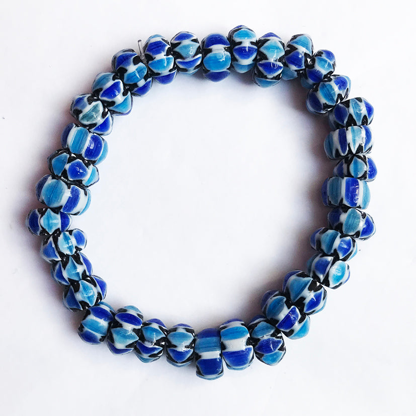 Fair trade Glass bead bracelet