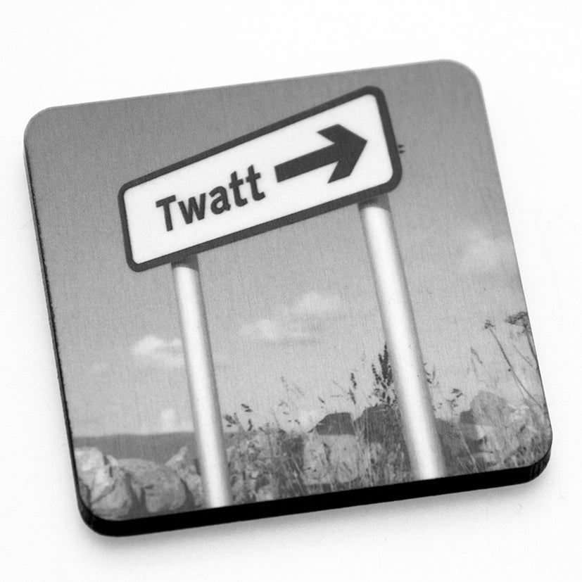 Twatt Fridge Magnet