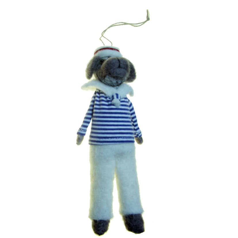 Salty Sea Dog Decoration