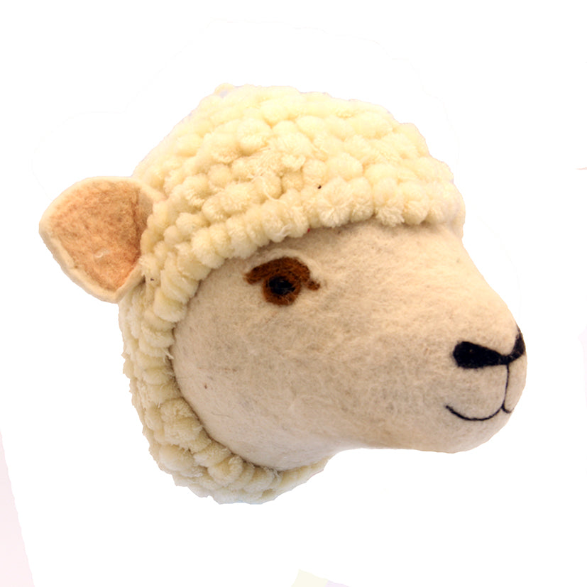 Wool Sheeps Head