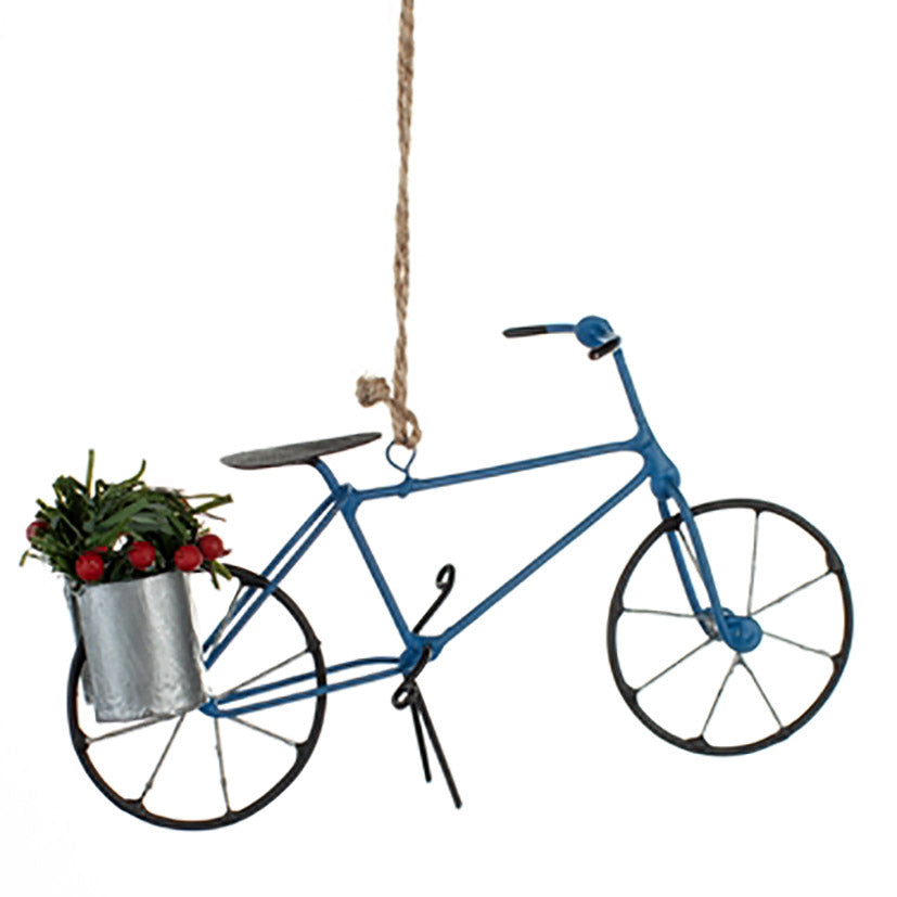 Hanging bike decoration