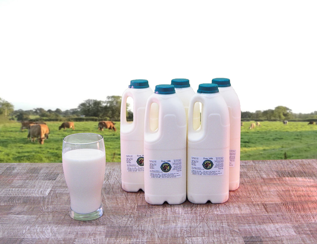 10 pints (5.7 litres) of raw milk