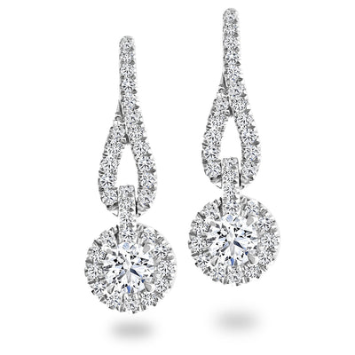 CR-E135564 - 14 K Gold and 0.54 Ctw Diamond Earring