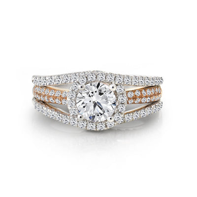 CR-R3420-70WR- 14 K Gold and 1.41 Ctw Engagement Diamond Ring