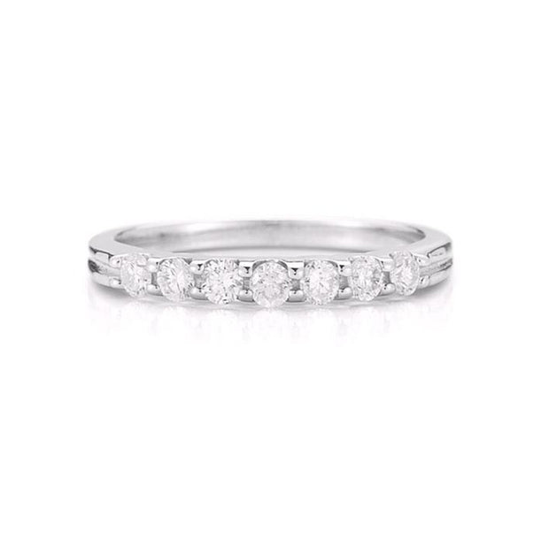 14K-White-Gold-0.25-Ct-Round-cut-Diamond-Wedding-Band-fame-diamonds
