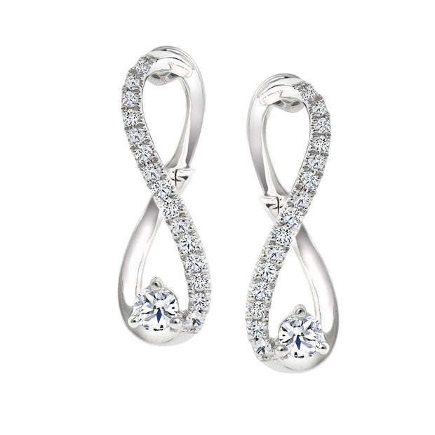 CR-E127458 - 10 K Gold and 0.4 Ctw Diamond Earring