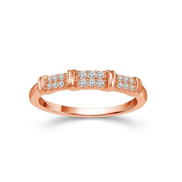 14-k-rose-Gold-0.12-ctw-diamond-fancy-2-row-band-wedding-ring-fame-diamonds