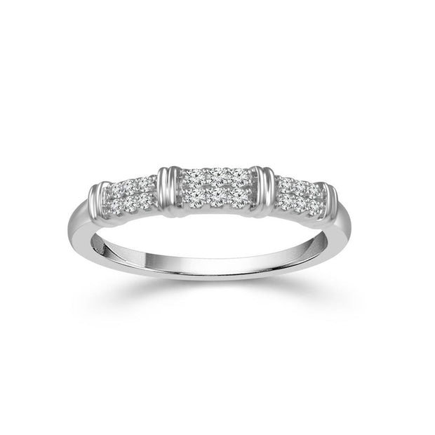 14-k-White-Gold-0.12-ctw-diamond-fancy-2-row-band-wedding-ring-fame-diamonds