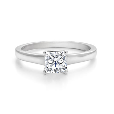 CR-R557-25PRW- 14 K Gold and 0.25 Ctw Engagement Diamond Ring
