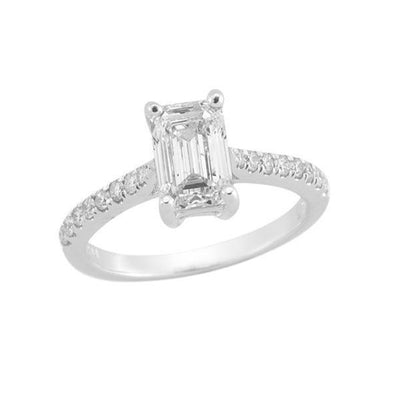 14-K-White-Gold-Emerald-Side-Stone-Engagement-Diamond-Ring-fame-diamonds